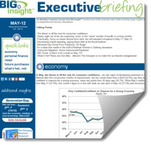 May 2012 BIG Executive Briefing