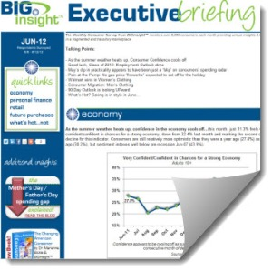 BIGinsight June Executive Briefing